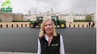 Liz Webster and tractors